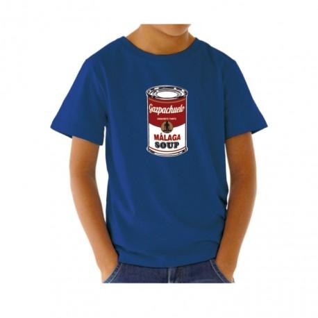 Camiseta graciosa para niño Gazpachuelo