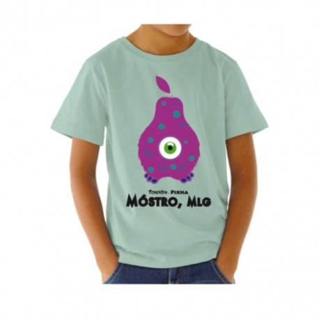 Camiseta molona para niño Perita Mostro