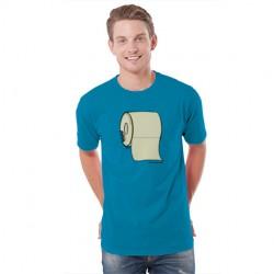 Camiseta original hombre muerde el rollo