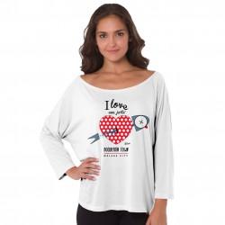 Camiseta mujer te quiero una jartá