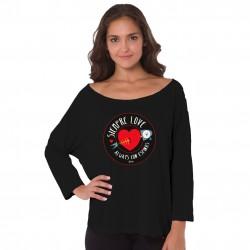 Camiseta amor Siempre Love