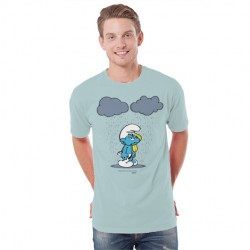 Camiseta Nube doble con pitufo mixto
