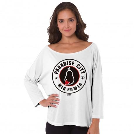 Camiseta Mujer Málaga Paradise city
