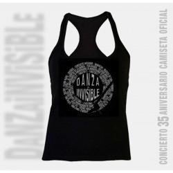 Camiseta nadadora mujer discografía completa de Danza Invisible