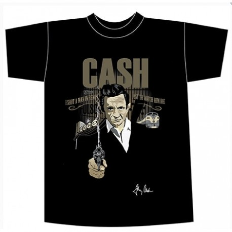 Camiseta hombre Folsom prison blues (Johnny Cash)
