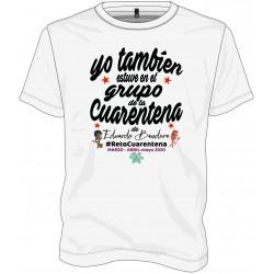 Camiseta para hombre Reto Cuarentena