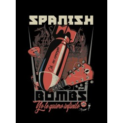 Camiseta hombre Spanish bombs (The Clash)