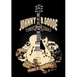 Camiseta hombre Johnny be Goode (Chuck Berry)